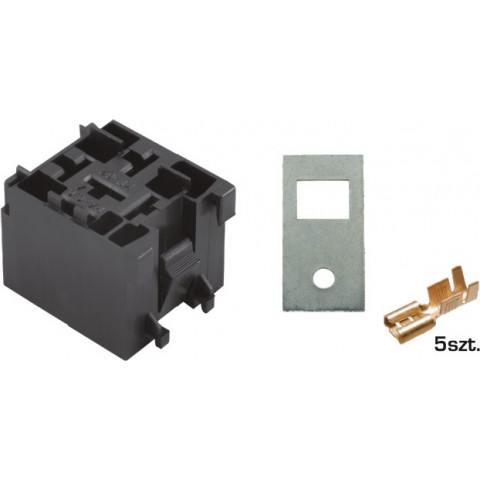 5-way mini relay housing set with J-2,5 terminals WQZ-05AB