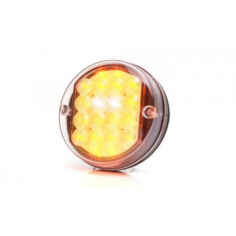 Lampa LED zespolona przednia 24V 216