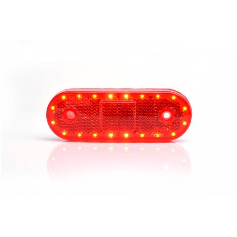 Multifunctional LED rear lamp STOP 3 functions 12V-24V 1251