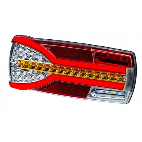 Multifunctional LED rear lamp 7 functions Carmen LEFT LZD2300