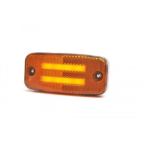 Lampa LED pozycyjna boczna kierunkowskaz 12V-24V 1137