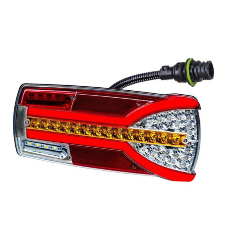 Multifunctional LED rear lamp 7 functions Carmen RIGHT 7pin LZD2303