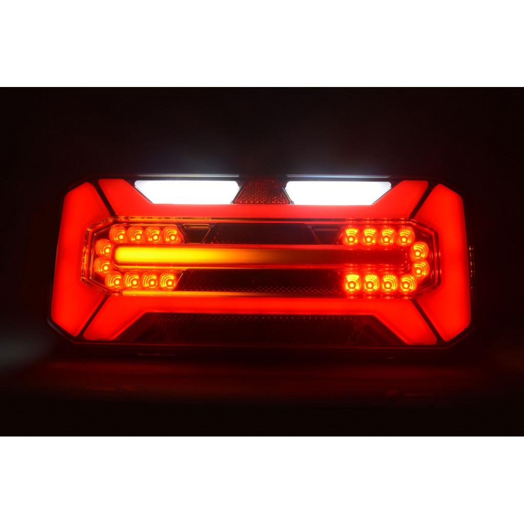 1x LED R/ückleuchte 12//24V 3 Funktionen E-Pr/üfezeichen LKW Anh/änger Heckleuchten OVP Neu