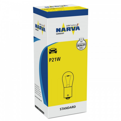 Light bulb P21W 12V 21W BA15s NARVA 17635