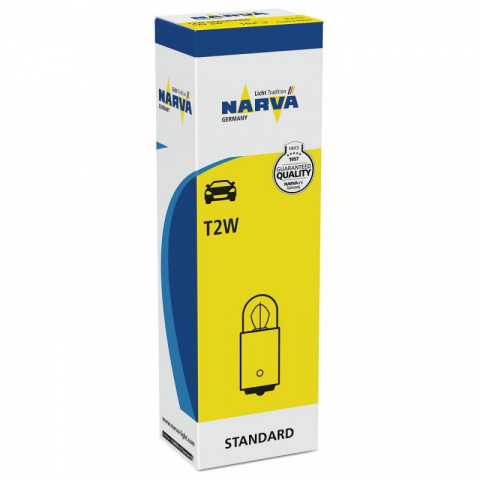 Light bulb T2W 12V 2W BA9s NARVA 17053