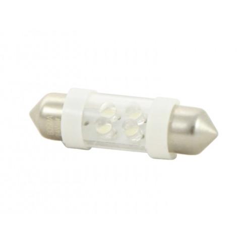 LED bulb 24V SV8,5 10x36 white standard BOSMA 2pcs 7859