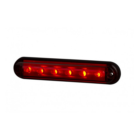 Lampa LED hamowania czerwona LSD2524