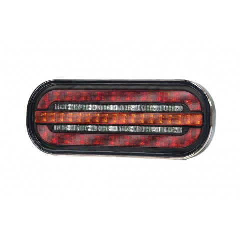 LED rear lamp 3 functions 12V/24V FT-320