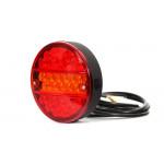 Lampa LED zespolona tylna 3 funkcje W19D (289)