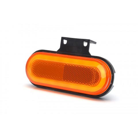 Lampa LED pozycyjna boczna z kierunkowskazem 12V-24V 1420