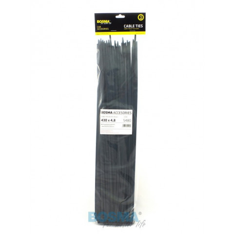 Cable ties 100pcs 4,8x430mm 5480