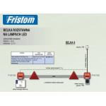 Belka rozstawna LED 2xFT-122T LED RLB09-01