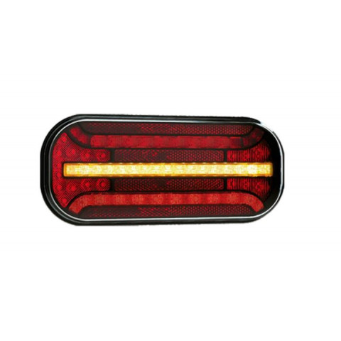 Universal LED rear lamp 12-36V 5 functions FT-230NT PM LED DI