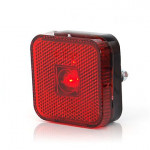 LED rear end-outline lamp red square (304)