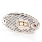 Lampa LED obrysowa przednia biała W65 (309P)
