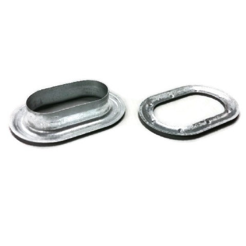 Oval galvanized 03.42