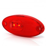 LED rear end-outline lamp red W65 (310P)