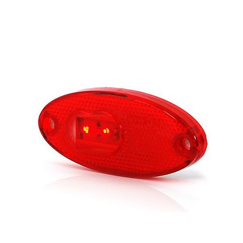Lampa LED obrysowa tylna czerwona W65 (310P)