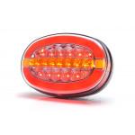 Multifunktionale LED-Rückleuchte 12V-24V 1432DD L/P.