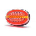 Multifunctional LED rear lamp 12V-24V 1432DD L/P