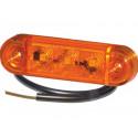 Lampa LED obrysowa boczna PRO-SLIM 12V 40044201