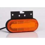 Lampa LED obrysowa 3-funkcyjna z uchwytem kątowym 12-36V FT-071+K