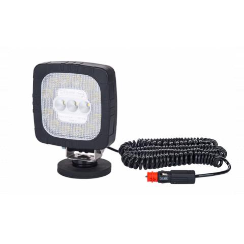 LED working lamp with lighter plug and magnet mount 12/24V LRD2685