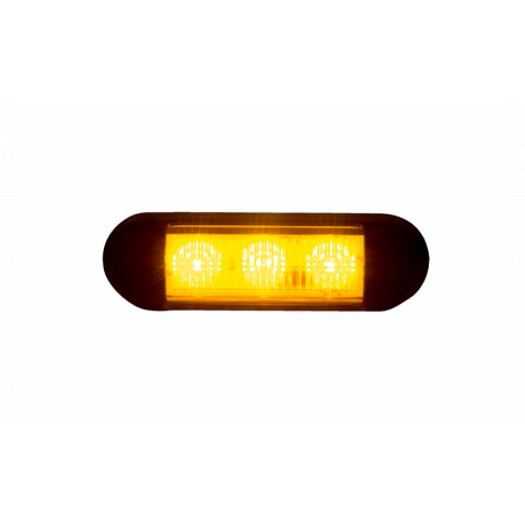 Warning LED lamp 12/24V LDO2675