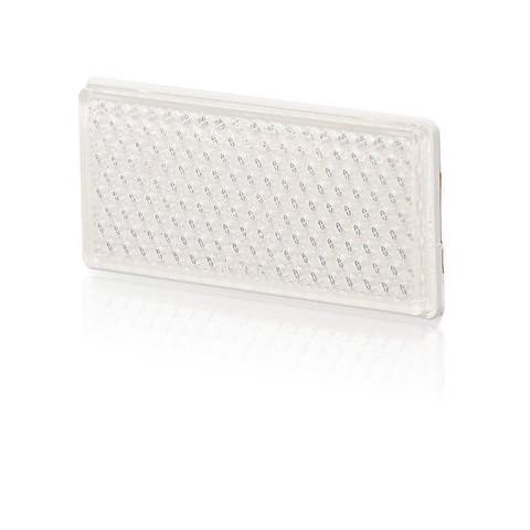 Urządzenie odblaskowe białe 105x48 (49P)
