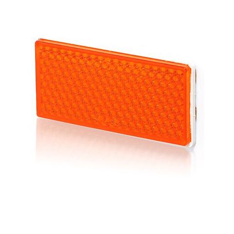 Urządzenie odblaskowe żółte 105x48 (50P)
