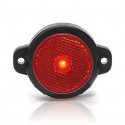 LED rear end-outline lamp red round (652)
