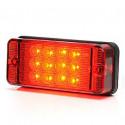 LED Nebelscheinwerfer rechteckige W83D (700KR)