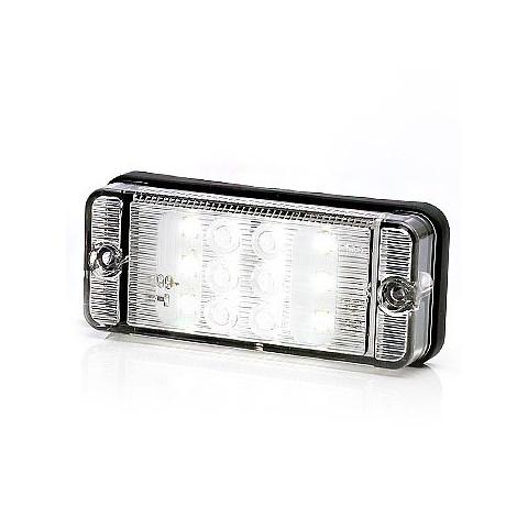 Lampa LED cofania prostokątna W84 (702)