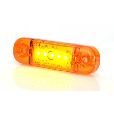 Lampa LED pozycyjna boczna żółta W97.2 (711)