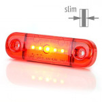 Lampa LED pozycyjna tylna czerwona W97.2 (712)