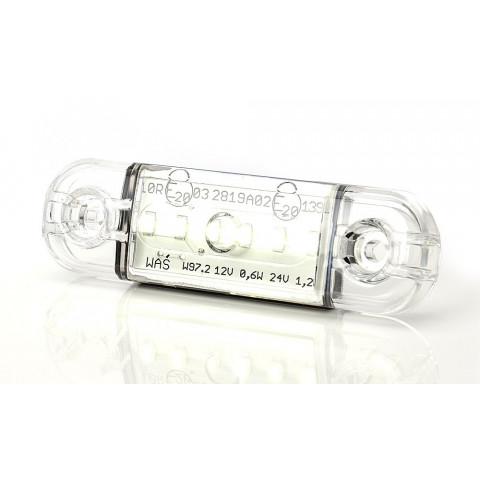 Lampa LED pozycyjna przednia biała W97.2 (713)