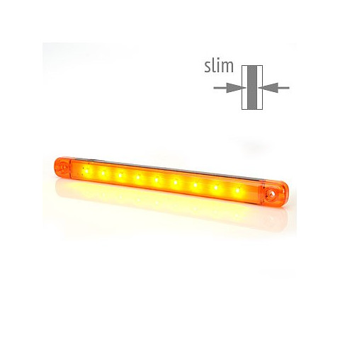 Lampa LED pozycyjna boczna żółta W97.4 (717)
