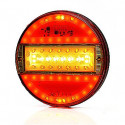 Multifunctional LED rear lamp 5-functional SLIM (742)
