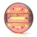 Multifunctional LED rear lamp 3-functional SLIM (743)