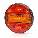 Multifunctional LED rear lamp 3-functional SLIM (744)