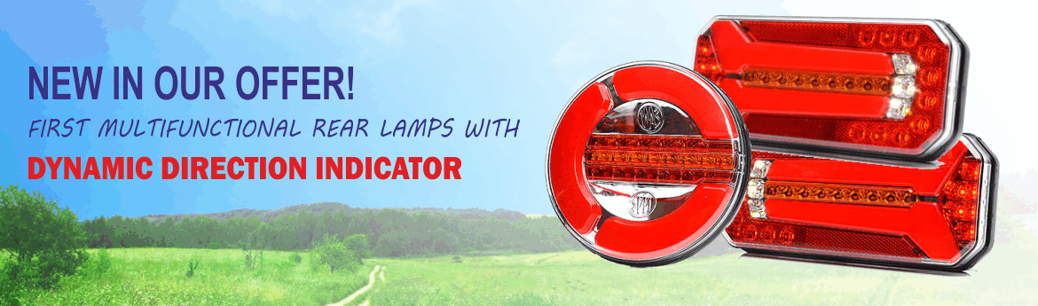 Lamps with dynamic direction indicator